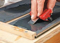 Ah! E se falando em madeira...: plataforma de afiação de ferramentas