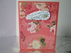 I like loving you card. Lovely Romance-Stampin' Up