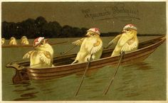 old russian easter postcards   TWENTY BIZARRE OLD EASTER CARDS!
