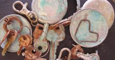 rusty and patina......anything!!!    Instructions below.             instructions:   (these look long, but it is really easy....   just...