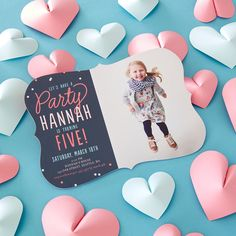 Let's party! Shop kid-friendly birthday party invitations to fit any theme.
