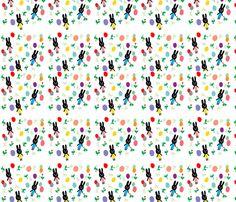 rabbit fabric by tamptation on Spoonflower - custom fabric