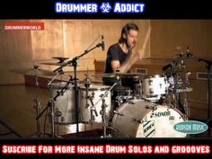 Benny Greb Insane Groovy Drums Solo - From His New DvD Language of Drumm...