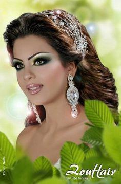 maquillage libanais oriental pour un mariage photo 13 - Coiffeur Maquilleur Mariage