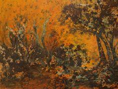 Landscape painted by Hannes Scholtz