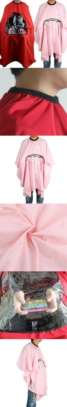 New Salon Barbers Hairdressing Cape Gown Hair Cutting Clothes Viewing Window Hot