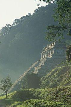 el imponente y mítico Palenque, Yucatan, México