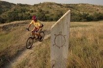 North Dakota's varied topography offers mountain bikers many choices for riding. From 1 million acres of rugged buttes in the Little Missouri National Grasslands to the rolling hills of the Turtle Mountains, North Dakota has many areas for mountain biking, including the Maah Daah Hey Trail, waiting to be discovered. @North Dakota Tourism