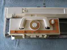 How To Take Apart A Brother Punch Card Knitting Machine