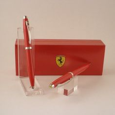 Ferrari by Sheaffer 100 Pen/Pencil Set | Stylus Fine Pens + #GiftsforMen #men #mancave #modernman #Europens #MakeYourMark LINK: www.europens.co.uk
