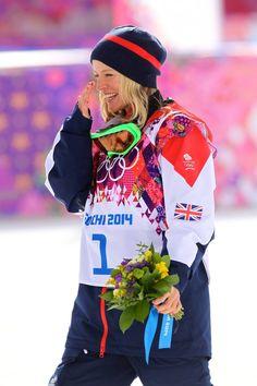 Jenny Jones, bronze medalist, snowboarding slope style 9th February 2014 :-) Winter Fun, Winter Travel, Snowboarding, Skiing, Bristol Fashion, Jenny Jones, Go Usa, Winter Olympics, Olympians