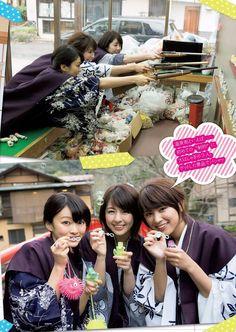 Ikumi Hisamatsu+Mari Yamachi+Yurina Yanagi - Weekly Playboy 2016 No16