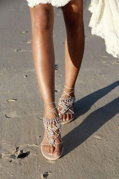 Women Flat Sandals Summer,SIN+MON Womens Wild Bohemian Pearl Clip-Toe T-Strap Shoes Elastic Band Comfort Flip Flops Sandals
