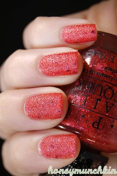 The Impossible is a neon peach/bright orange-pink jelly based glitter polish with pink, purple and gold micro glitter, scattered holographic particles, pink hexagon glitter and pink star glitter (I… Matte Nail Polish, Nail Polish Designs, Nail Polishes, Nail Art Designs, Dream Nails, Love Nails, Pretty Nails, Pedicure Nails, Manicure