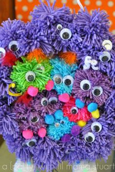 DIY Yarn Monster Tutorial Make Your Own Monstrously Cute Creature
