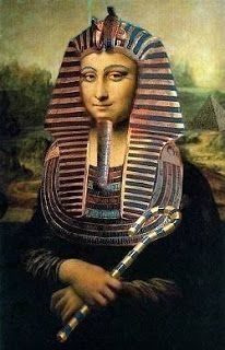 La Gioconda version: Egypt style