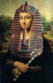 La Gioconda version: Egypt style