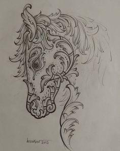Mohammad Reza Honarvar (@mohammadreza.honarvar.art) • Instagram fotoğrafları ve videoları Islamic Art Pattern, Pattern Art, Beautiful Horses, Maya, Coloring Pages, Diy And Crafts, Miniatures, Sketches, Abstract