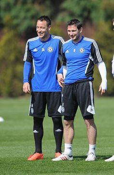 Frank Lampard and John Terry. Two legends. Two name. One color. and Always together.