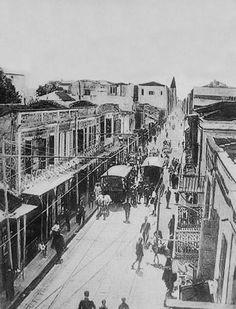 Εγνατία (1917;) Greece Pictures, Old Pictures, Old Photos, Sand And Water, Thessaloniki, Athens, Istanbul, The Past, Places To Visit