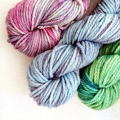Some chunky merino perfect for quick winter knits and so soft!
