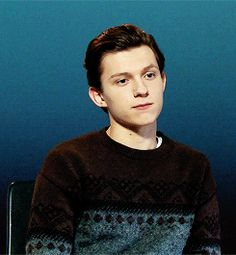 Tom Holland All credit to: https://adori-ngholland.tumblr.com/