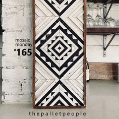 Wooden Wall Art, Diy Wall Art, Wood Wall, Wood Mosaic, Mosaic Wall Art, Reclaimed Wood Art, Barn Wood, Diy Wood Projects, Wood Crafts