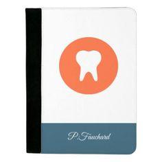 Dentist Logo Icon Padfolio - stylish gifts unique cool diy customize