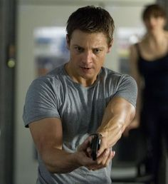 Jeremy Renner in Bourne Legacy.... one of the best scenes in the whole movie