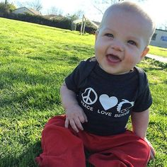 @mrsdrhanley thank you for sharing this adorable picture of your little one in our vintage smoke onesie  #ConsciousKids