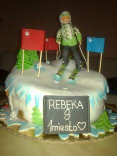 Lyžiarka Cake, Desserts, Blog, Tailgate Desserts, Deserts, Kuchen, Postres, Blogging, Dessert