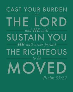 He will sustain you.  That is a magnificent thing. <3