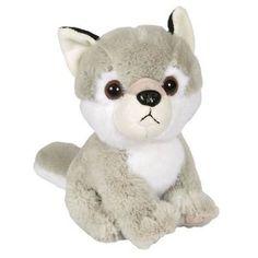 "8"" Wolf Plush Stuffed Animal Toy | eBay"