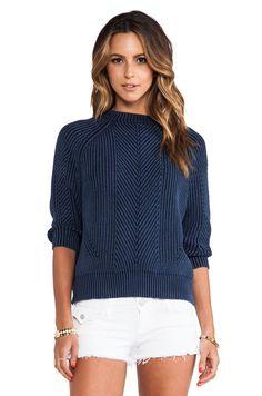 DemyLee Chelsea Sweater in Indigo | REVOLVE
