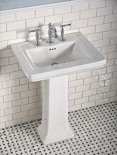 Perfect American Standardu0027s Pedestal Sink For Classic Design Bathroom / Laton  Collection