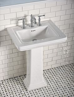 American Standard Pedestal Sink Home Decor
