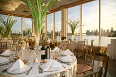 Some spaces in Brooklyn have breath taking views of NY skyline as the perfect backdrop for a wedding.