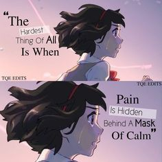 Yes I think she knows this better. Because she does it more than me cz I've just started this but she has been doing this for a long time Sad Anime Quotes, Manga Quotes, True Quotes, Communication Quotes, Dark Thoughts, Anime People, Printable Quotes, Queen Quotes, I Love Anime