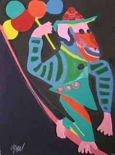 Karel Appel | Appel's Circus  • [CoBrA] art movement