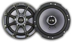 """Kicker 6"""" Coaxial Speakers (pair) 11KS60"""
