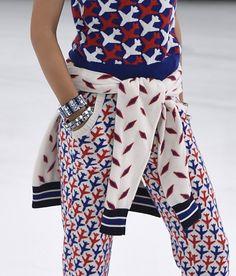 patternprints journal: PRINTS, PATTERNS, TEXTURES, DETAILS FROM PARIS CATWALKS (WOMENSWEAR S/S 2016) / Chanel