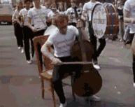 Cello Players And Parades Don't Go Well