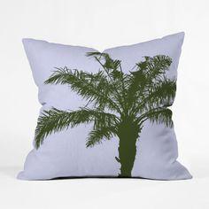 Wild Palm Tree Pillow Cover | dotandbo.com