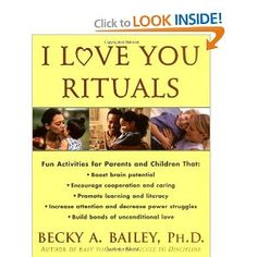 The two most common mistakes that parents make are being too busy to be present and focused on our children and unintentionally teaching them that they must either be extra special or misbehave to receive attention from us, according to Dr. Bailey. I Love You Rituals are easy ways to prevent these mistakes.