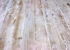 Lime Washed Fleet Street Pine Flooring - reclaimed engineered floorboards salvaged from the old newspaper buildings on Fleet Street - via Lawson's White Wash Wood Floors, Painted Wooden Floors, Pine Floors, Painted Floorboards, Timber Flooring, Kitchen Flooring, Hardwood Floors, Kitchen Wood, Flooring Ideas