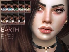 Earth Eyes N98 by Pralinesims at TSR via Sims 4 Updates