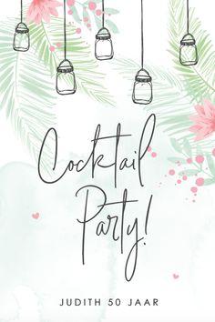 Vier je zomerse verjaardag gezellig met vrienden en familie in je tuin met cocktails!