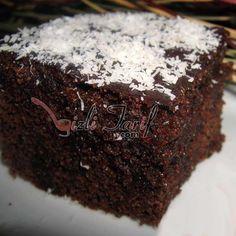 mikrodalga browni kek ıslak kek