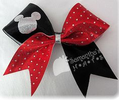WORLDS+inspired+Cheer+Bow