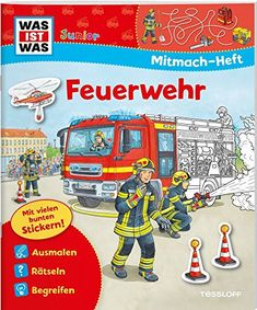 Mitmach-Heft Feuerwehr: Spiele, Rtsel, Sticker (WAS IST WAS Junior Mitmach-Hefte) #Feuerwehr, #Spiele, #Mitmach, #Heft New Books, Books To Read, Handmade Gifts For Friends, Book Logo, Poetry Art, Best Selling Books, Baby Kind, Book Of Shadows, Book Recommendations